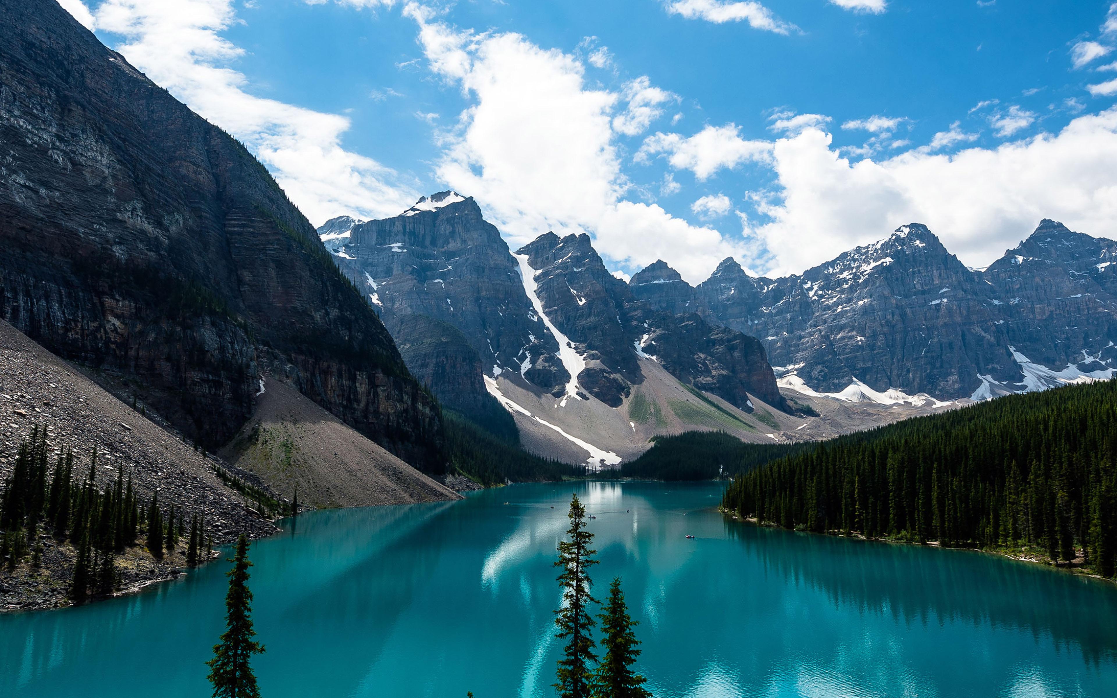 3840 X Moraine Lake 1732102 Hd Wallpaper