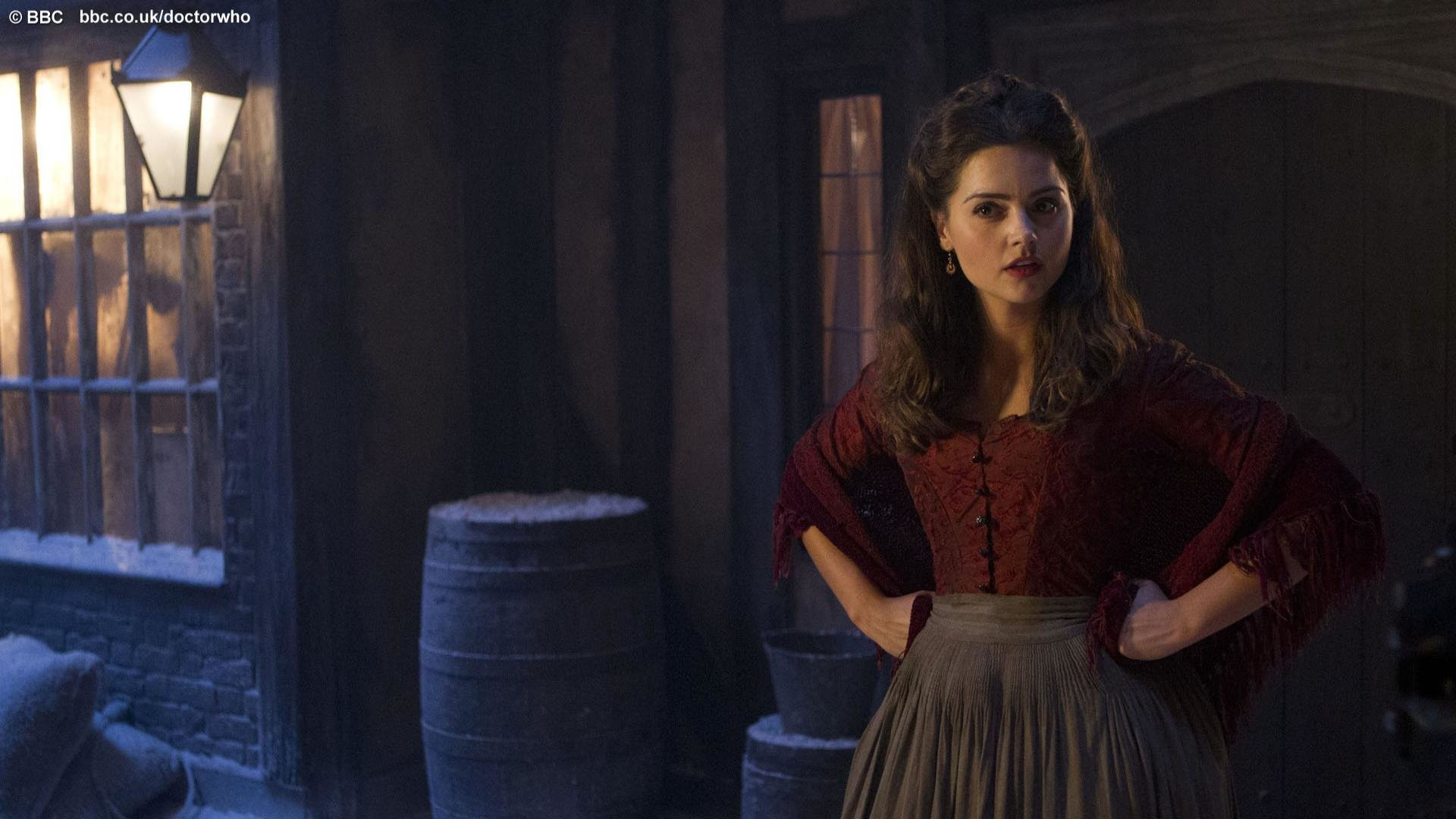 Free Jenna Coleman High Quality Wallpaper Id Doctor Who The