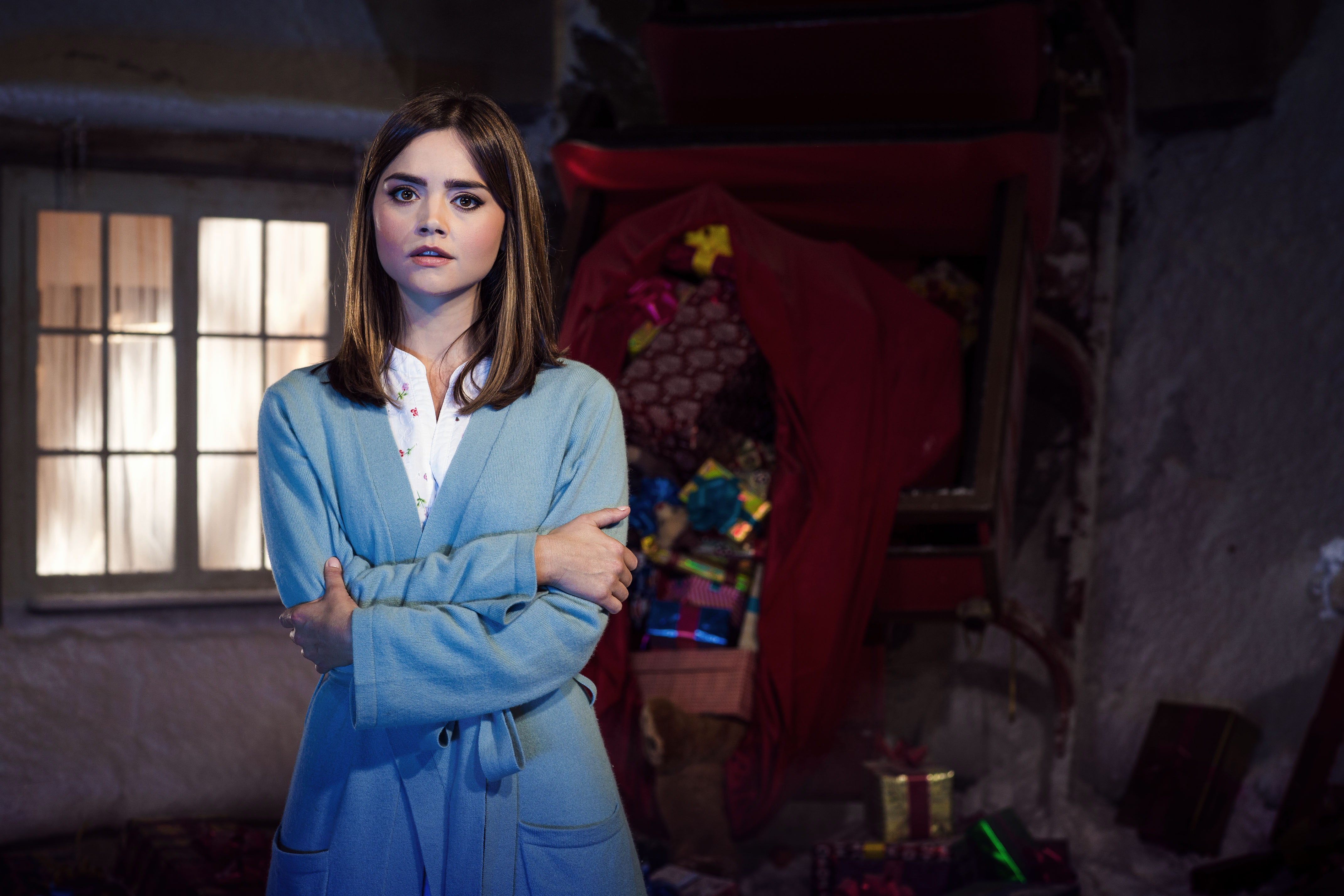 4k Clara Oswald Jenna Coleman Doctor Who Clara Oswald Last