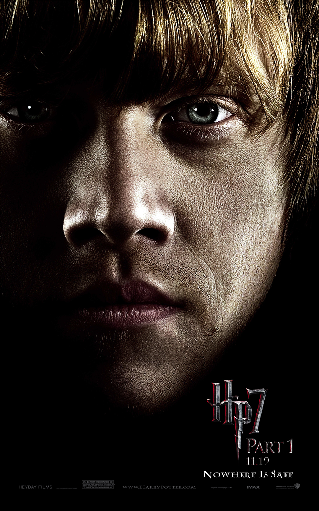 Ron Weasley From Harry Potter And The Deathly Hallows - Harry Potter Hd Portrait , HD Wallpaper & Backgrounds
