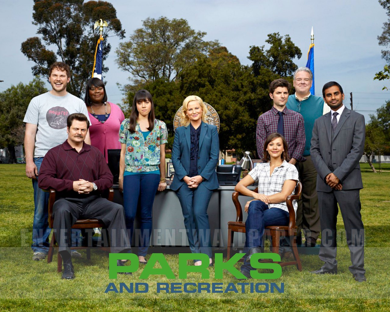 Parks And Recreation Wallpaper Parks And Recreation Tv Poster