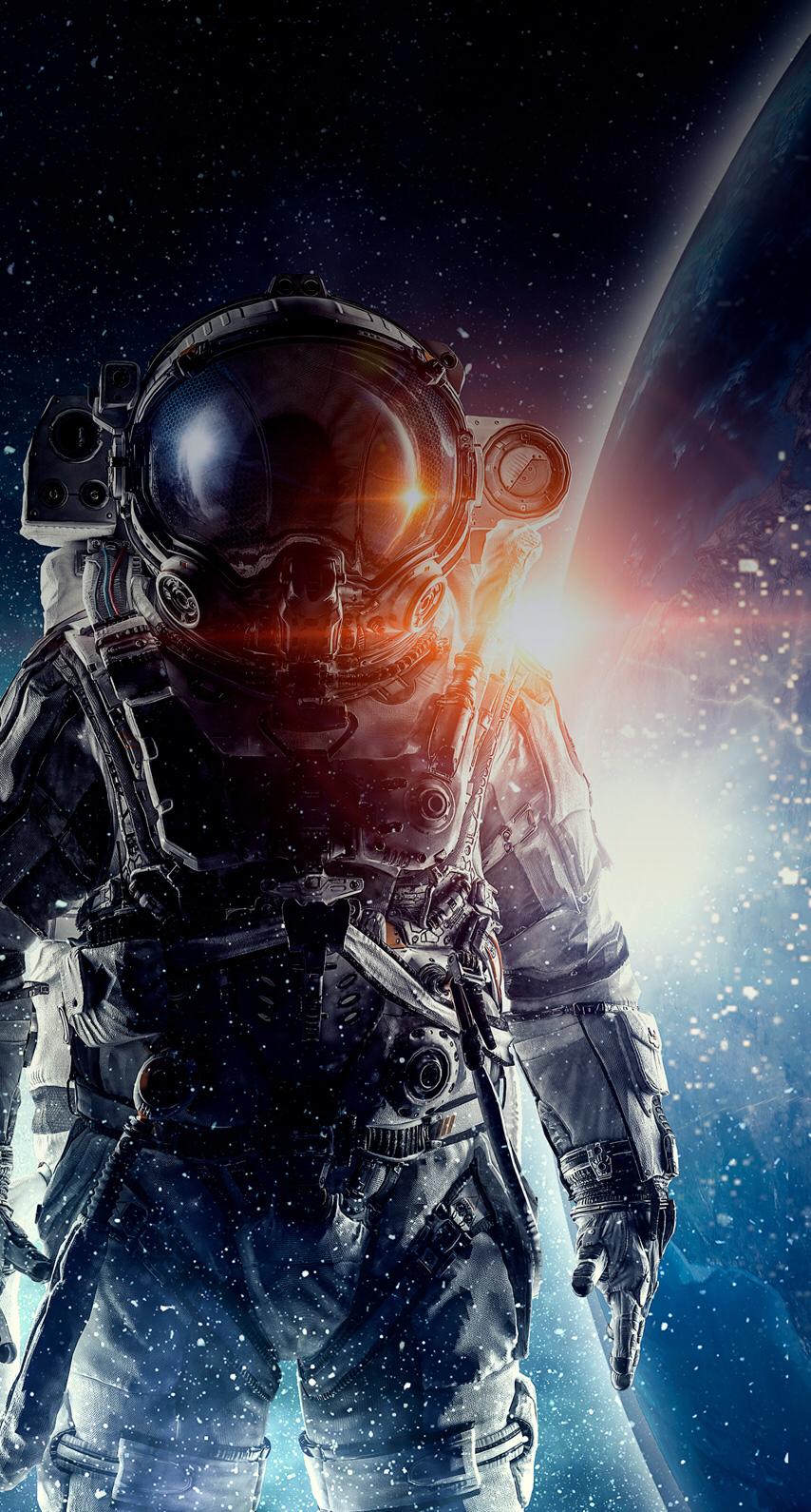 Wallpaper/ Astronauta - Astronaut Wallpaper 4k , HD Wallpaper & Backgrounds