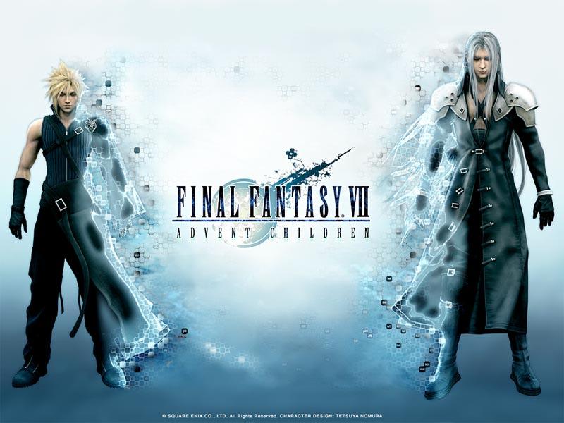 Cloud Sephiroth Final Fantasy Vii Advent Children