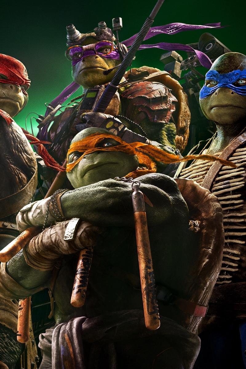 Wallpaper Teenage Mutant Ninja Turtles 2014 Novelty Tmnt X