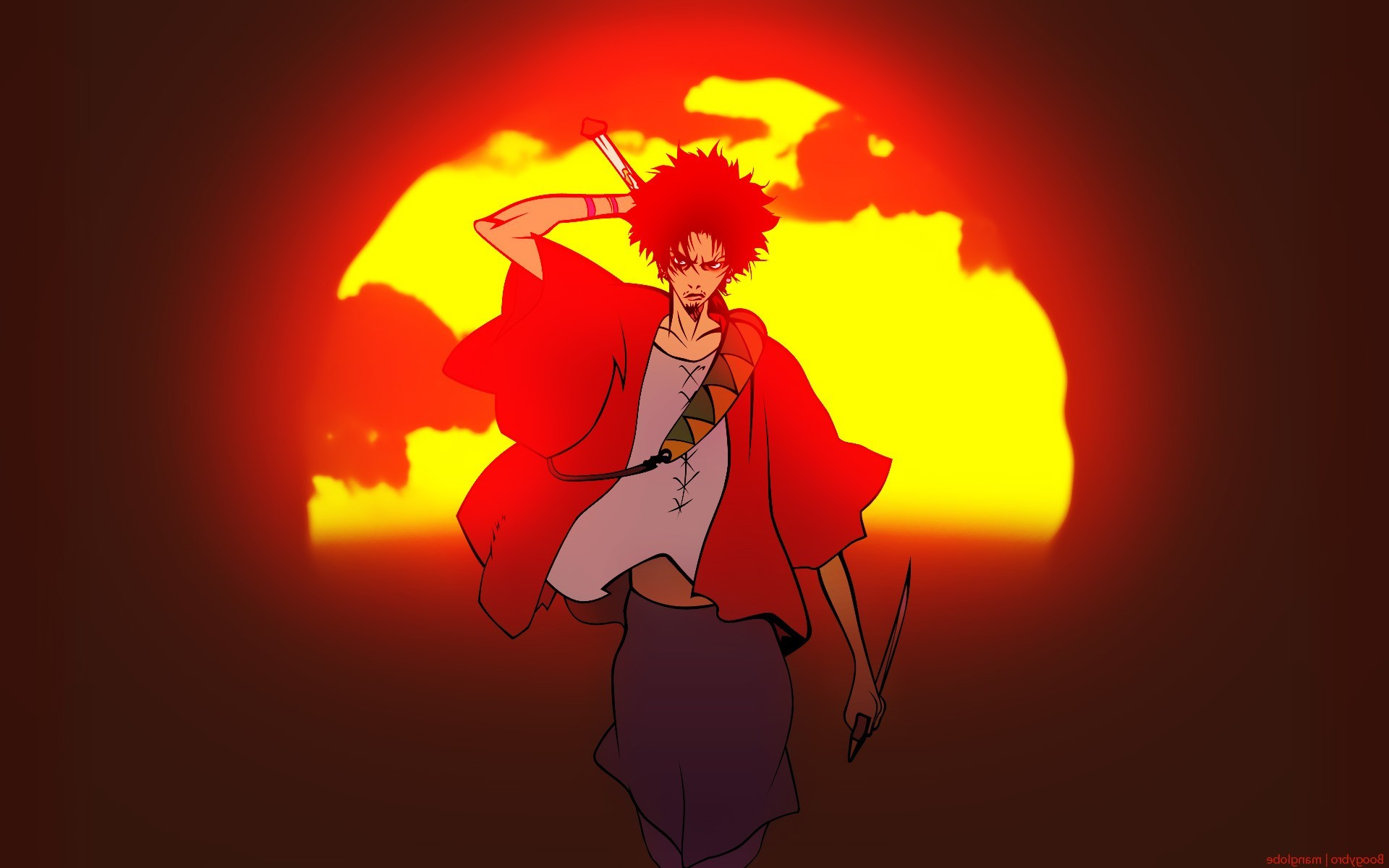 Samurai Champloo Mugen Anime Wallpaper And Background Samurai Champloo Wallpaper Mugen 1748109 Hd Wallpaper Backgrounds Download