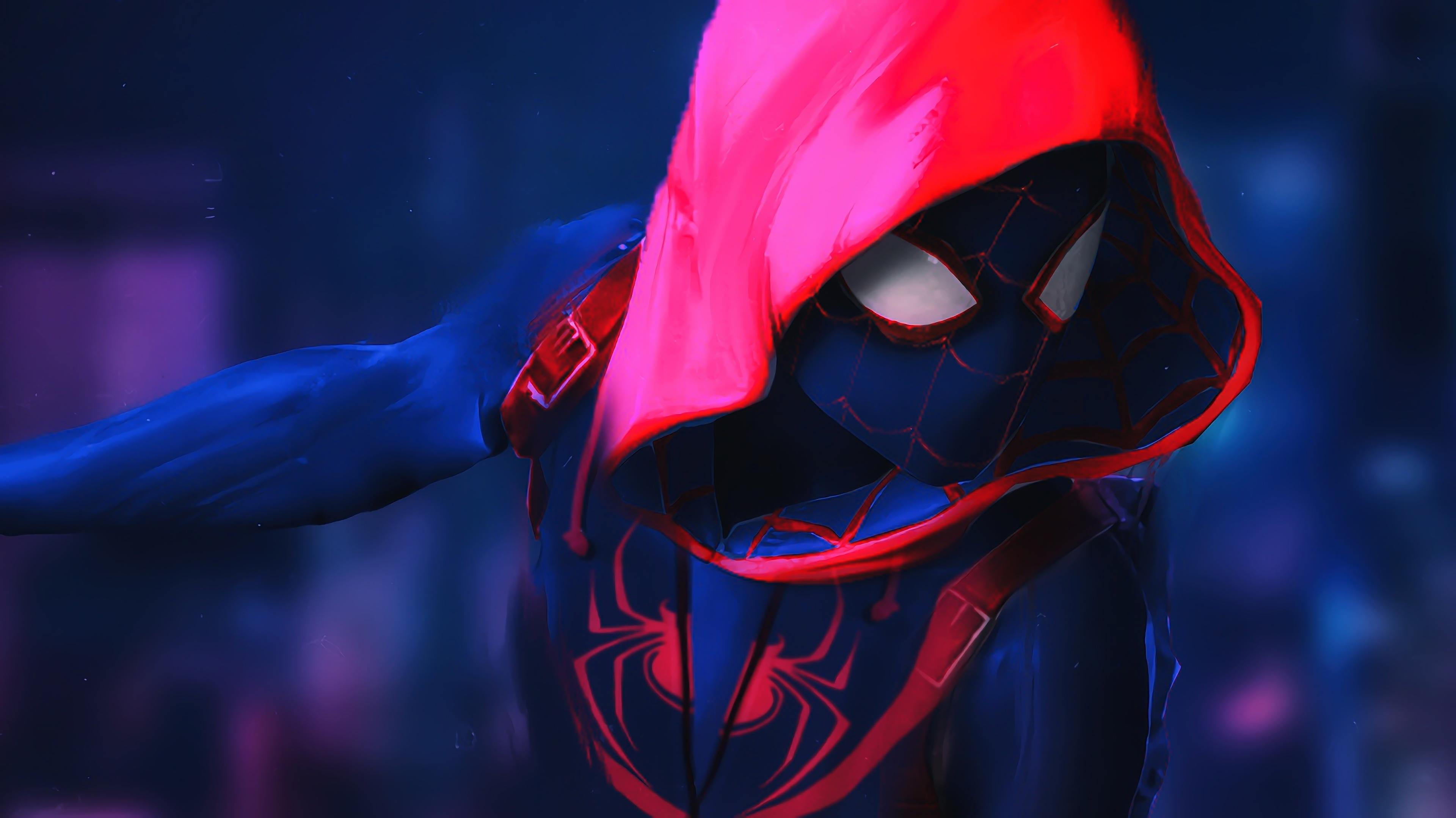 Spider Man Into The Spider Verse 1749841 Hd Wallpaper