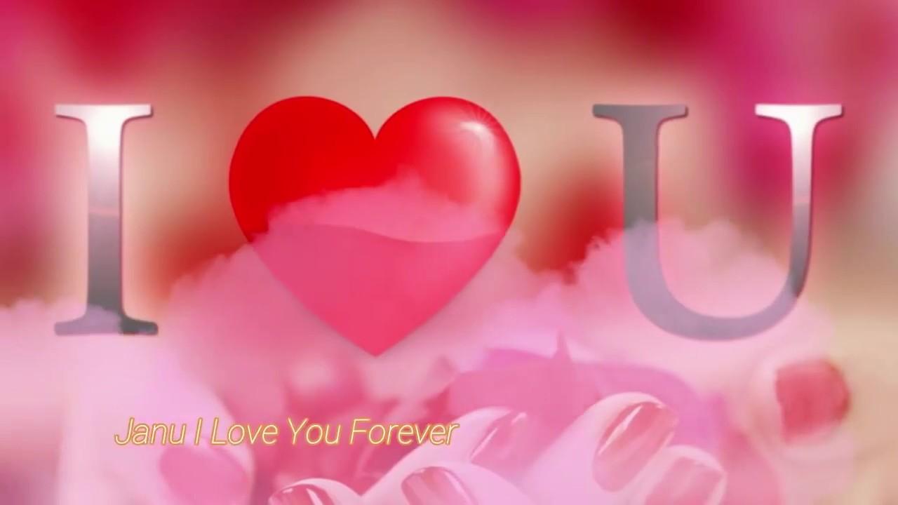 I Love You Janu Love Whatsapp Status Video By Sourav New