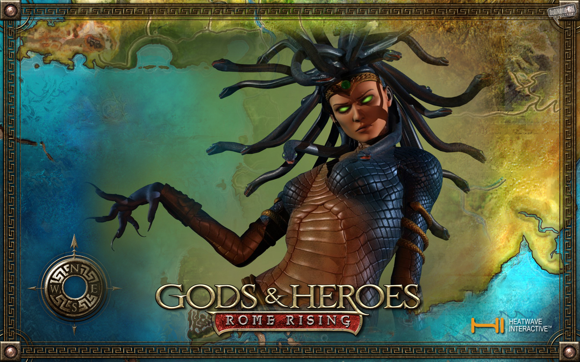 Gods And Heroes-rome Rising - Hd Pics Of Gods Of Rome Game , HD Wallpaper & Backgrounds