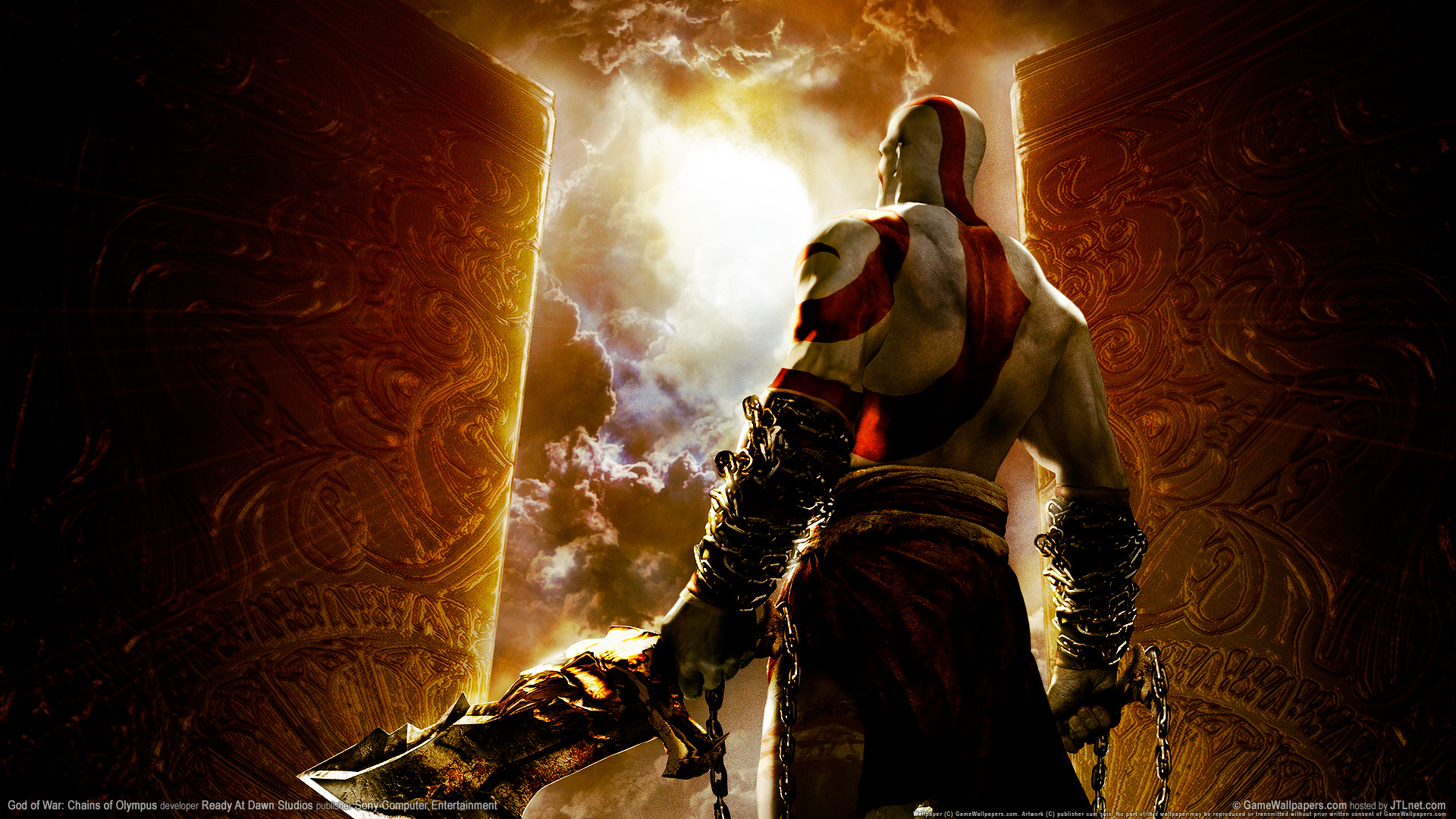 God Of War Chains Of Olympus 1752887 Hd Wallpaper