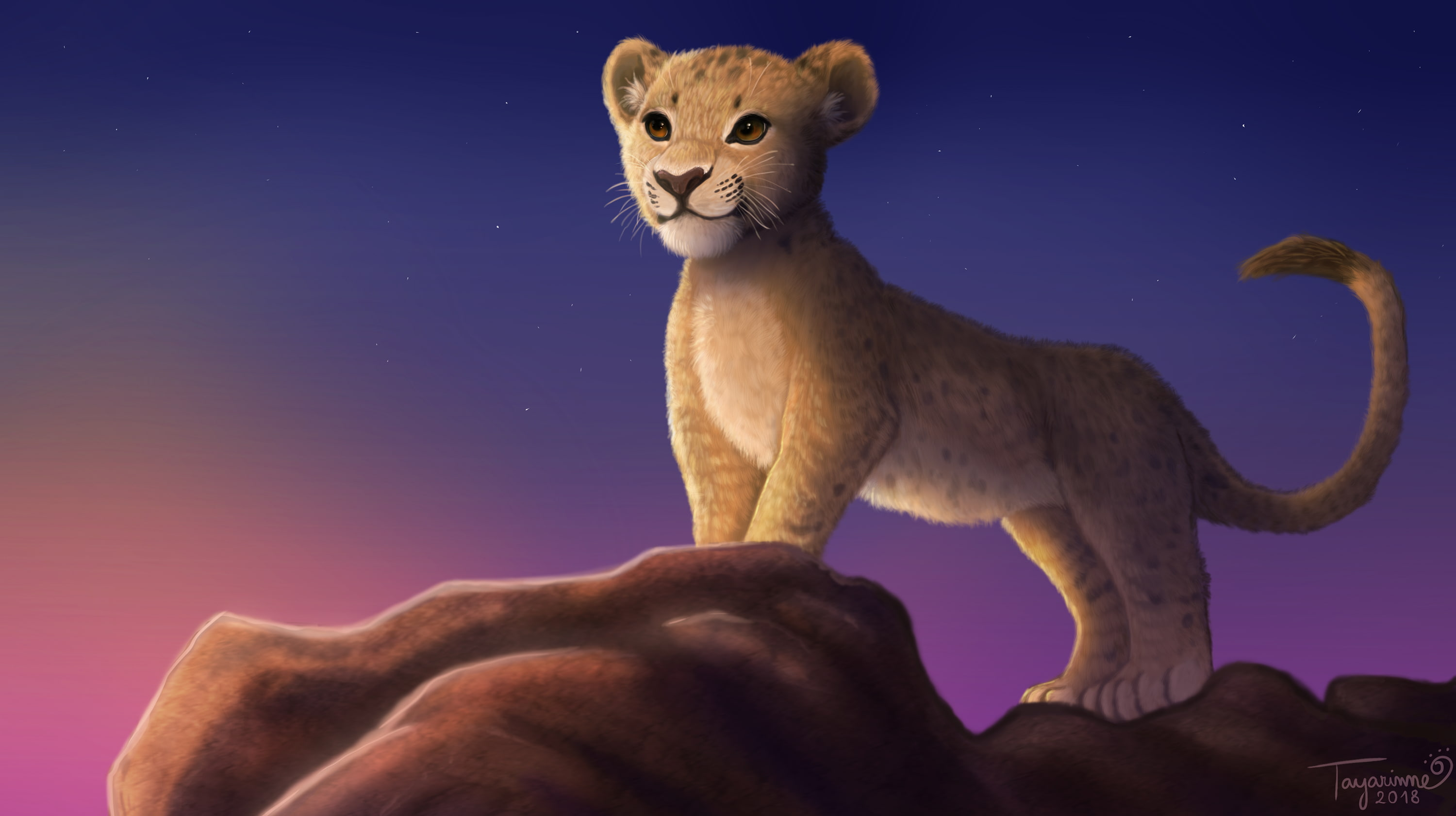 Movie, The Lion King , Simba - Simba The Lion King 2019 , HD Wallpaper & Backgrounds