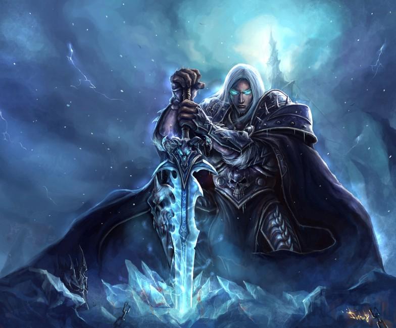World Of Warcraft Lich King Arthas Menethil Arthas The