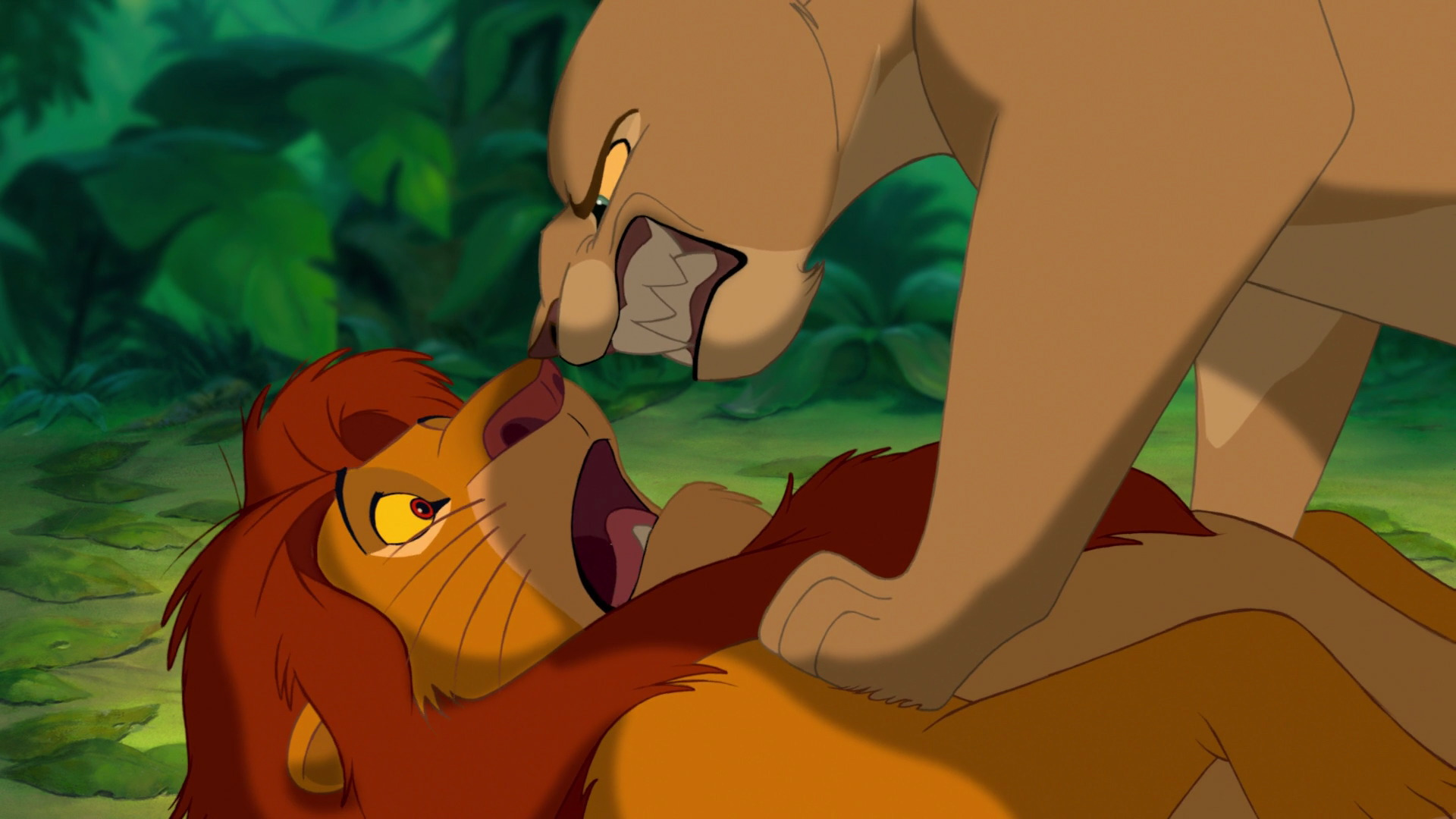 The Lion King Nala Simba - Grown Up Simba And Nala , HD Wallpaper & Backgrounds