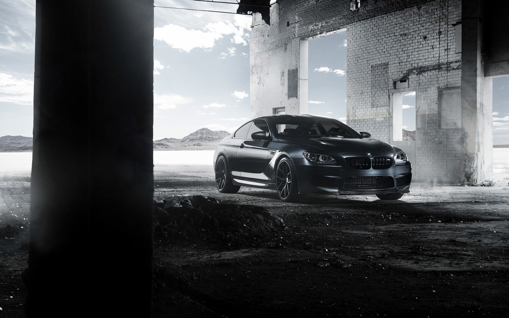 Bmw M6 Coupe F13 Black Car Tuning Bmw M6 All Black 1757345 Hd Wallpaper Backgrounds Download