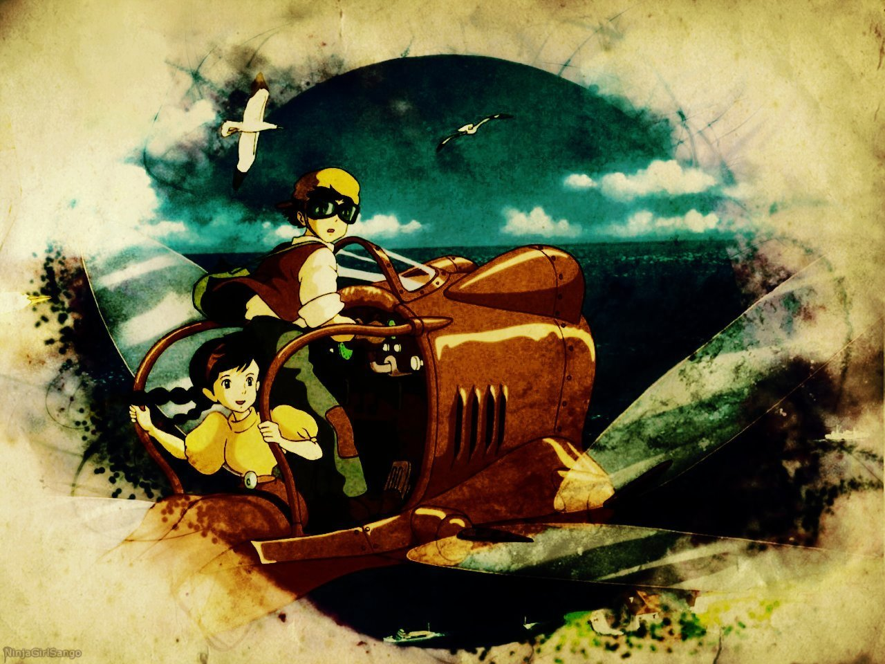 Castle In The Sky Wallpaper And Background Image Ghibli Laputa