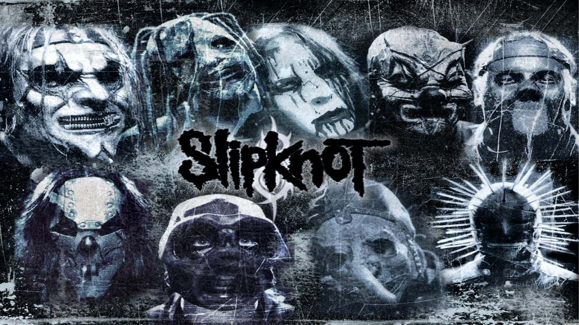 Slipknot Desktop Wallpapers Slipknot Black Metal 1765062 Hd Wallpaper Backgrounds Download