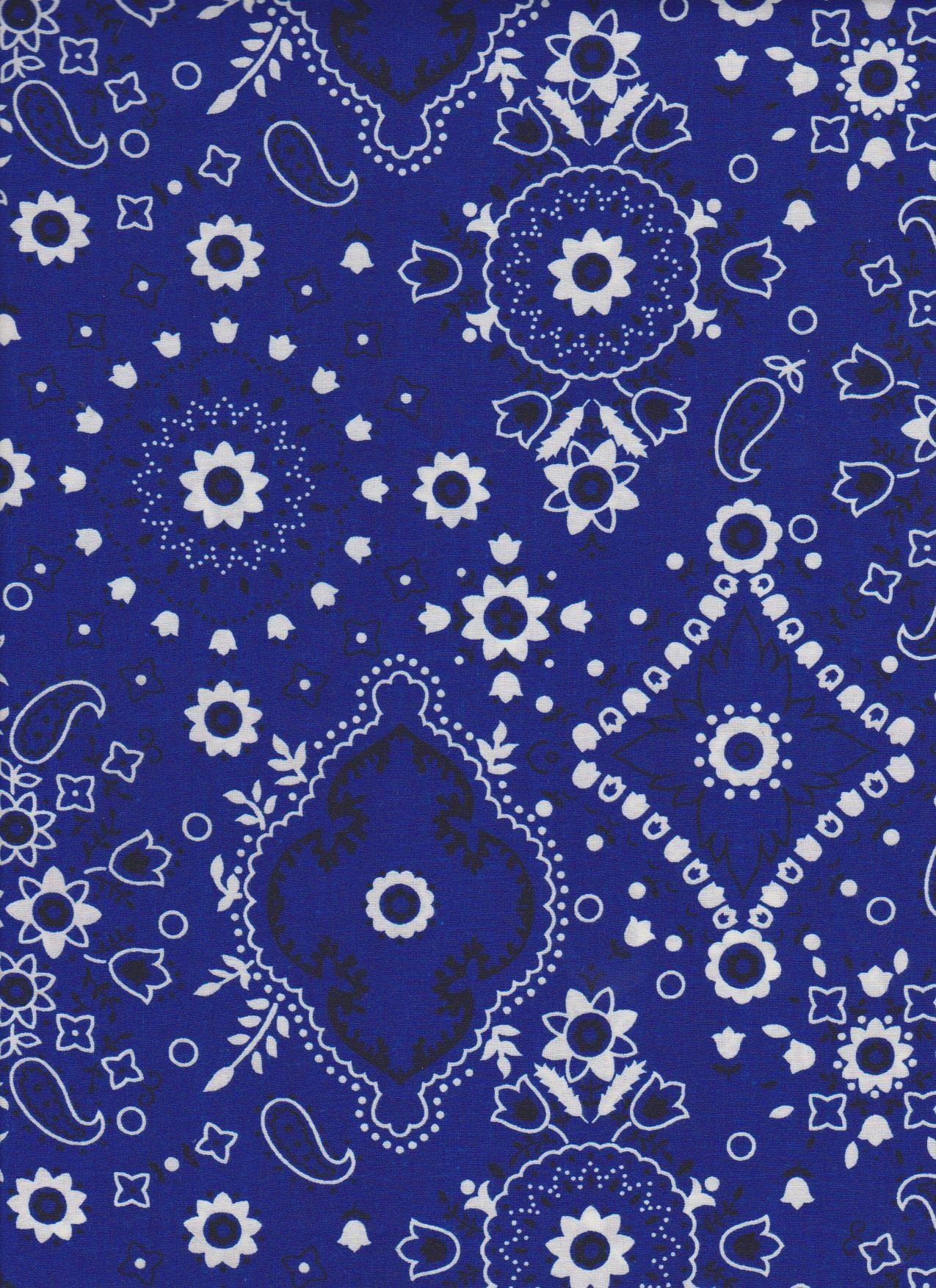 Bandana Wallpaper - Blue Bandana Wallpaper Phone , HD Wallpaper & Backgrounds