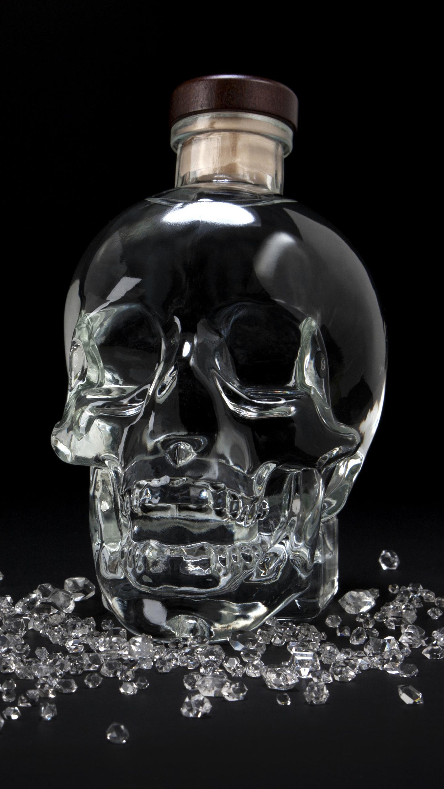 Wallpaper Crystal Head Vodka Black 1767000 Hd