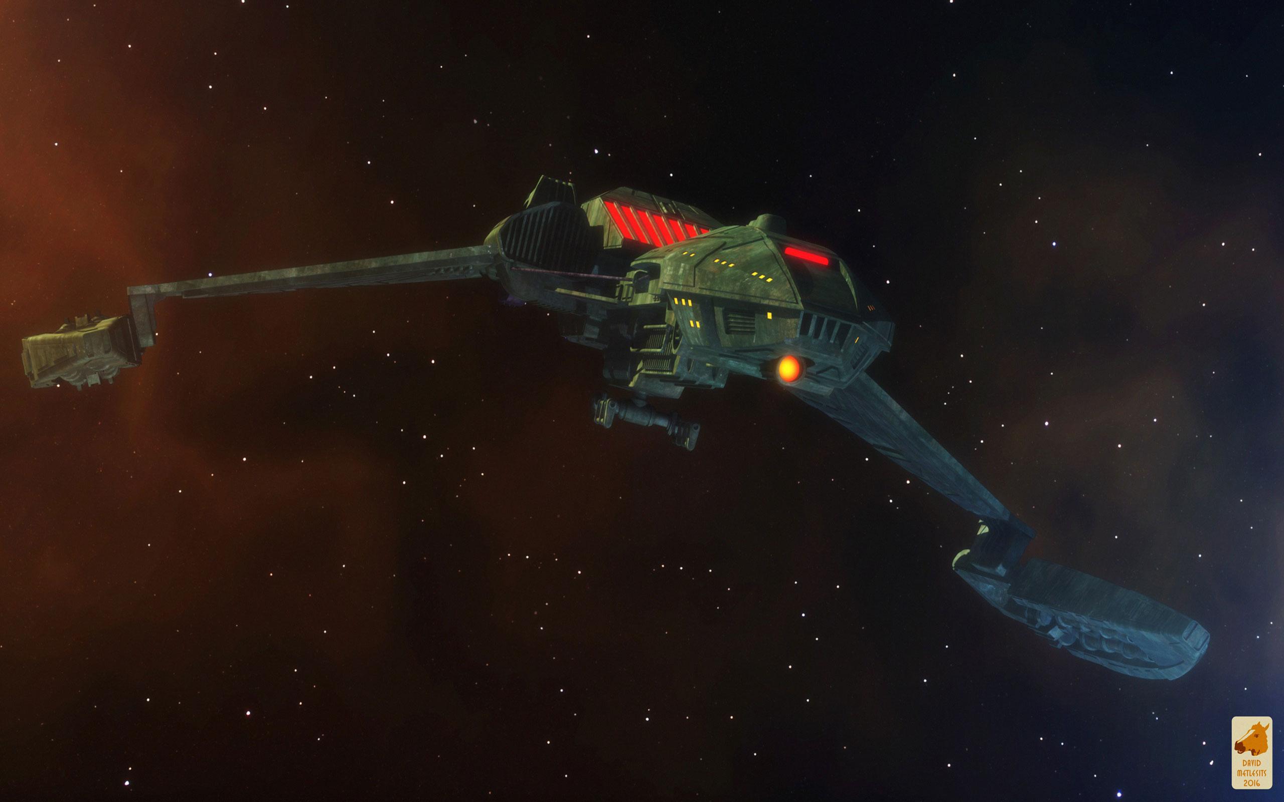 Star Trek Klingon D5 Class Battlecruiser Star 1769757 Hd