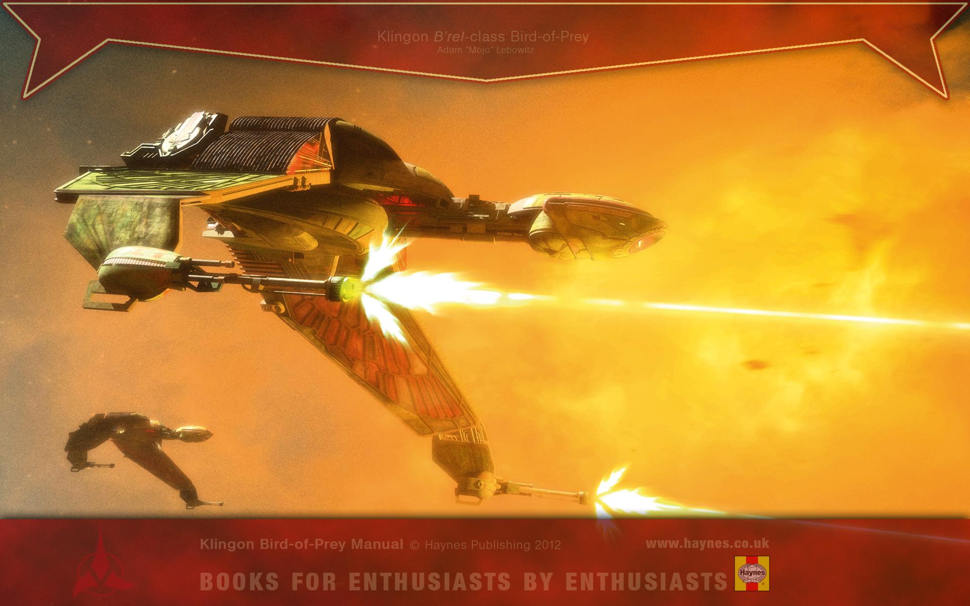 The Klingon Bird Of Prey Manual Reveals The Secrets Klingon Bird