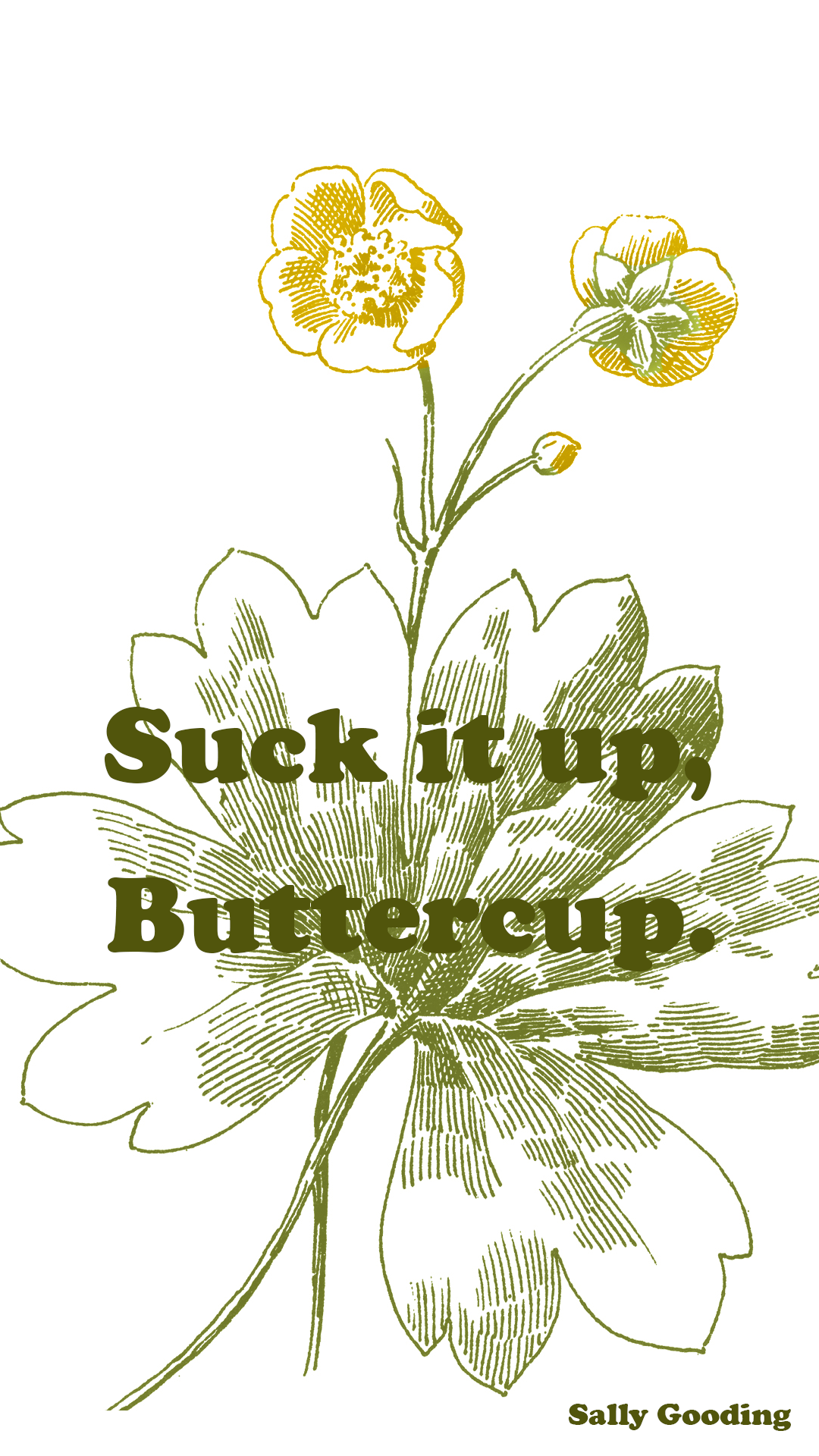 Suck it up buttercup unisex crew socks