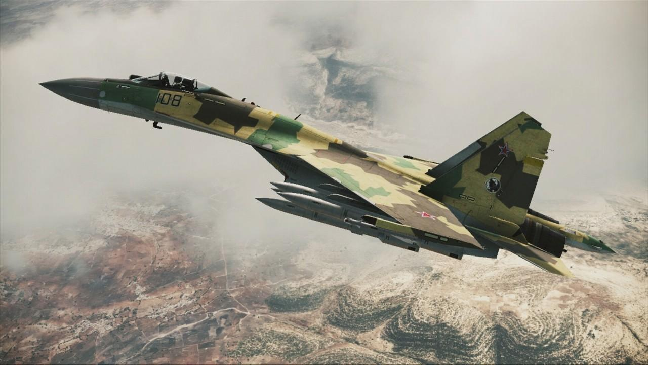Ace Combat 7 Su 35 1774012 Hd Wallpaper Backgrounds
