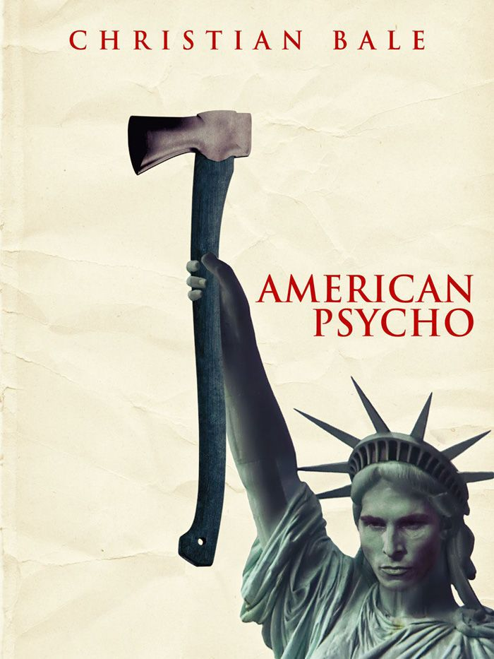 American Psycho By Stuart Spencer - Statue Of Liberty , HD Wallpaper & Backgrounds