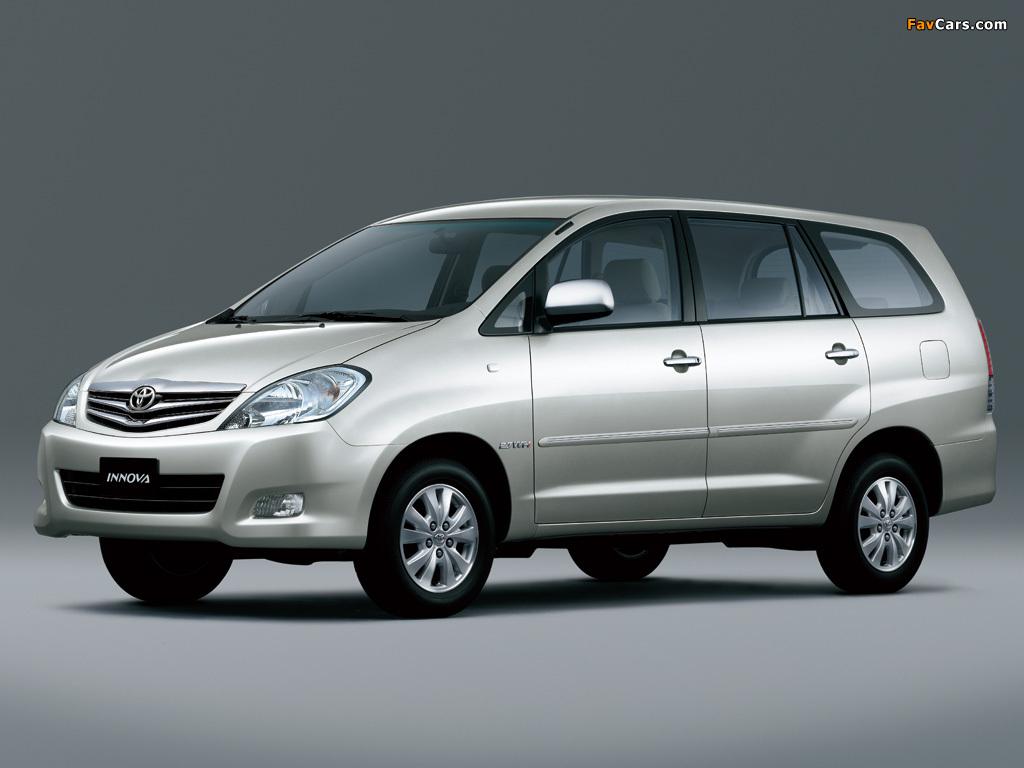 Pictures Of Toyota Innova 2008 - Тойота Иннова , HD Wallpaper & Backgrounds