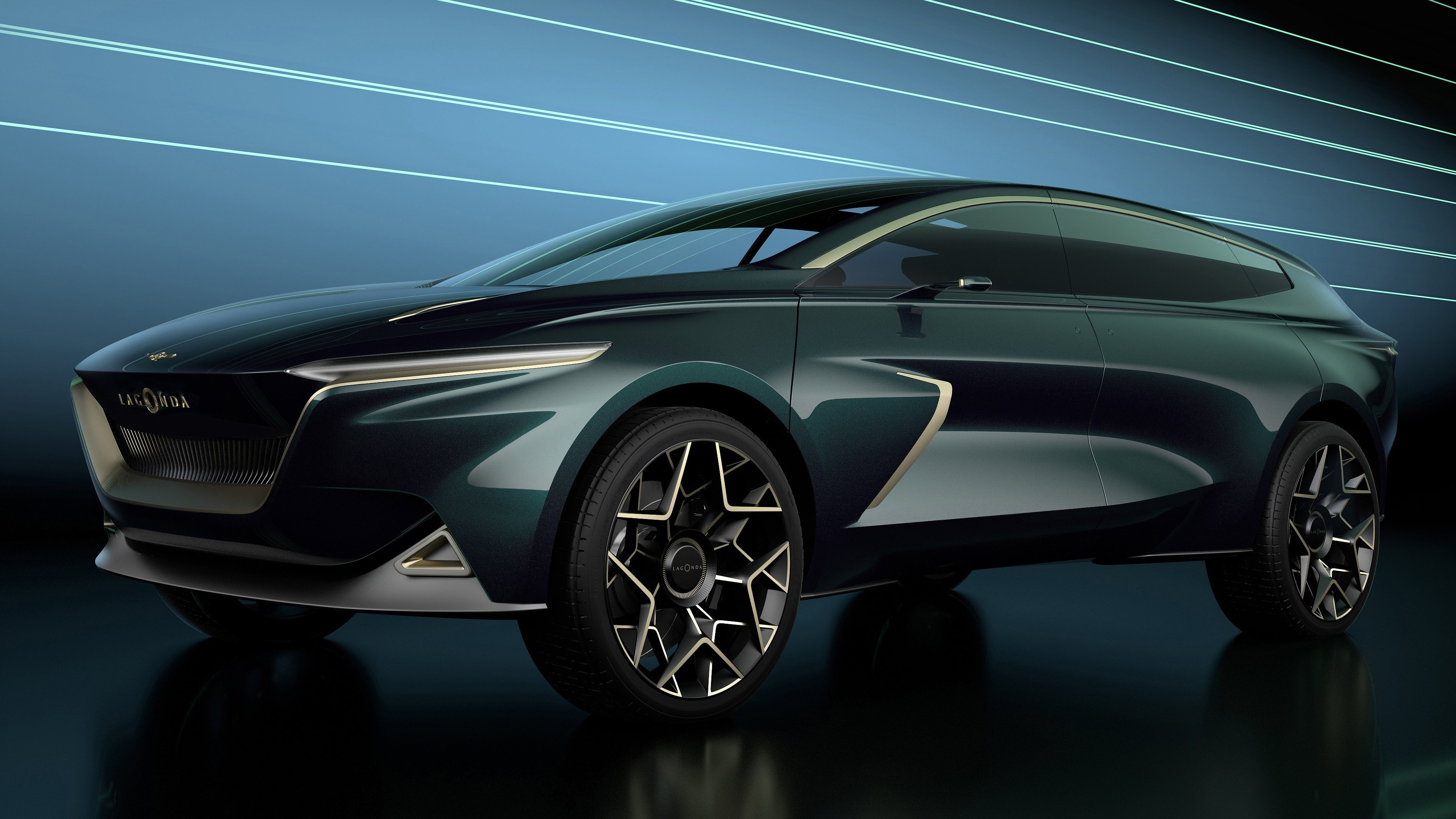 4k Wallpaper Of 2019 Aston Martin Lagonda All Terrain