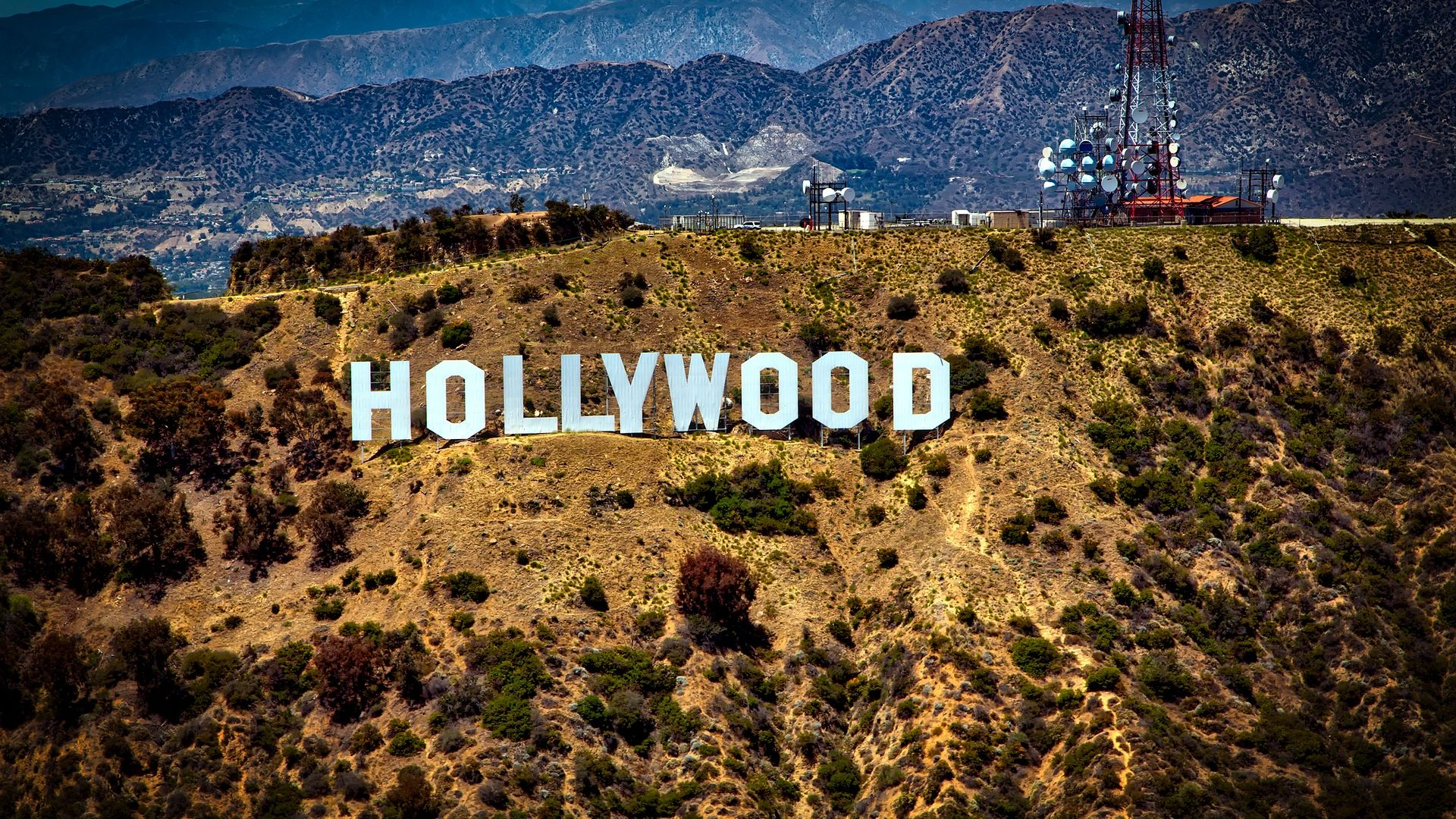 Hollywood Sign Los Angeles - Los Angeles , HD Wallpaper & Backgrounds