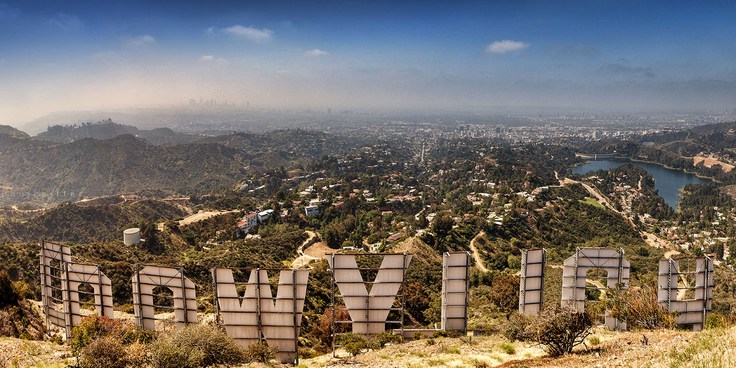 Hollywood Sign Los Angeles California - Hollywood Sign , HD Wallpaper & Backgrounds