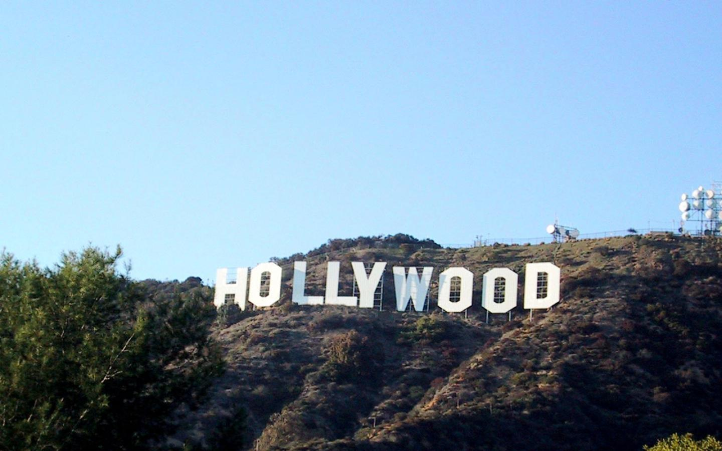 Hollywood Sign Wallpaper - Hollywood Sign , HD Wallpaper & Backgrounds