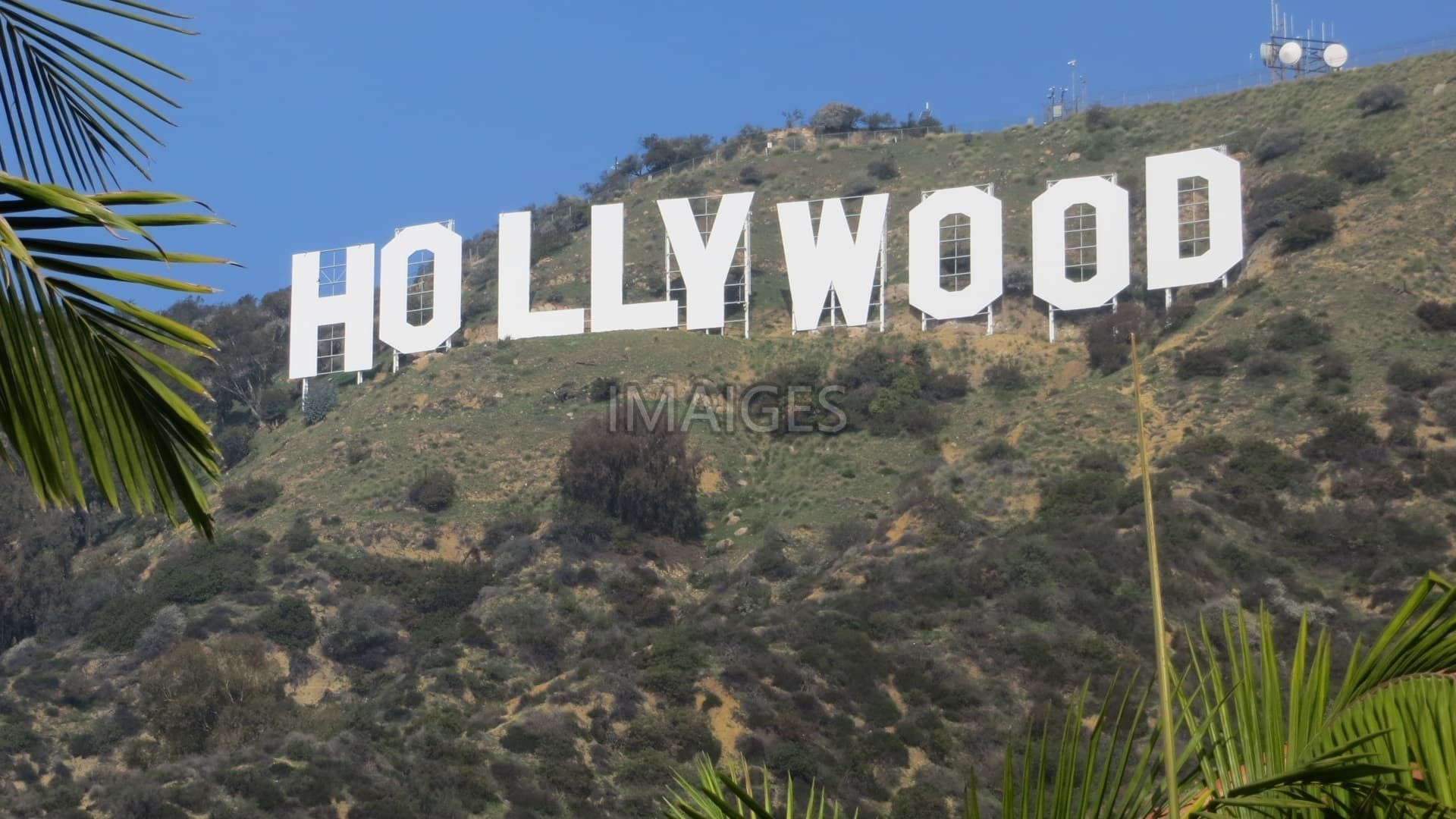 Stock Photo Of Hollywood At Los Angeles California - Hollywood Sign , HD Wallpaper & Backgrounds