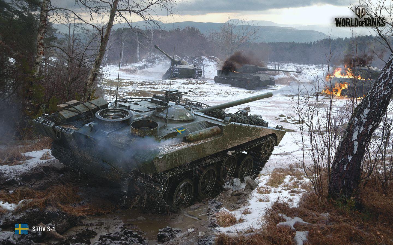 World Of Tanks Strv S1 1784774 Hd Wallpaper Backgrounds