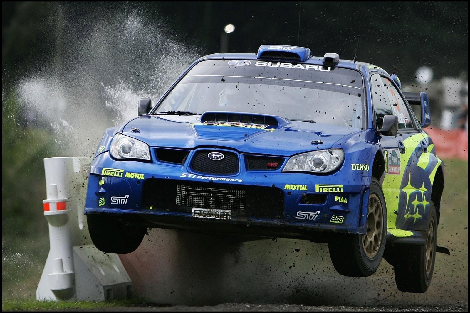 Car Subaru Rally Cars Wallpaper And Background - Wrc Racing Subaru Impreza , HD Wallpaper & Backgrounds