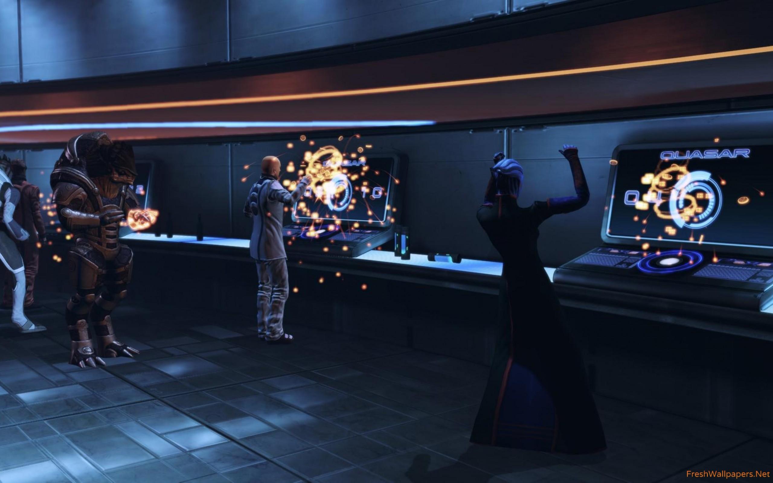 Mass Effect Wallpaper - Pc Game , HD Wallpaper & Backgrounds