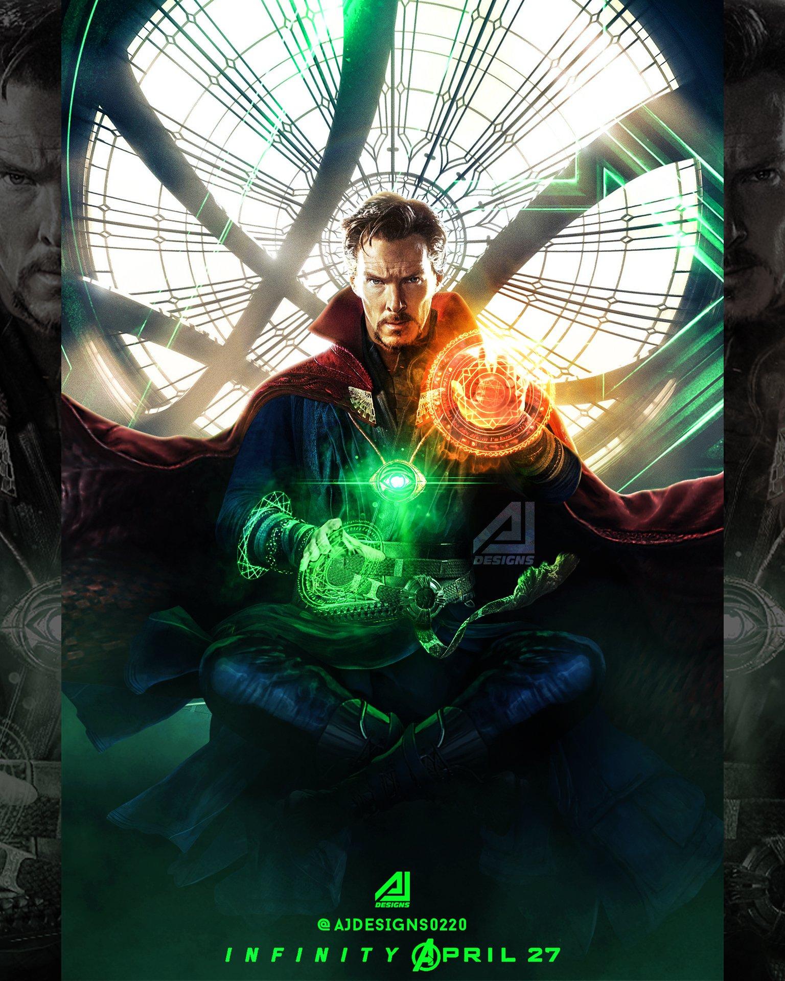 Doctor Strange Live Wallpaper - Doctor Strange Opening Eye ...