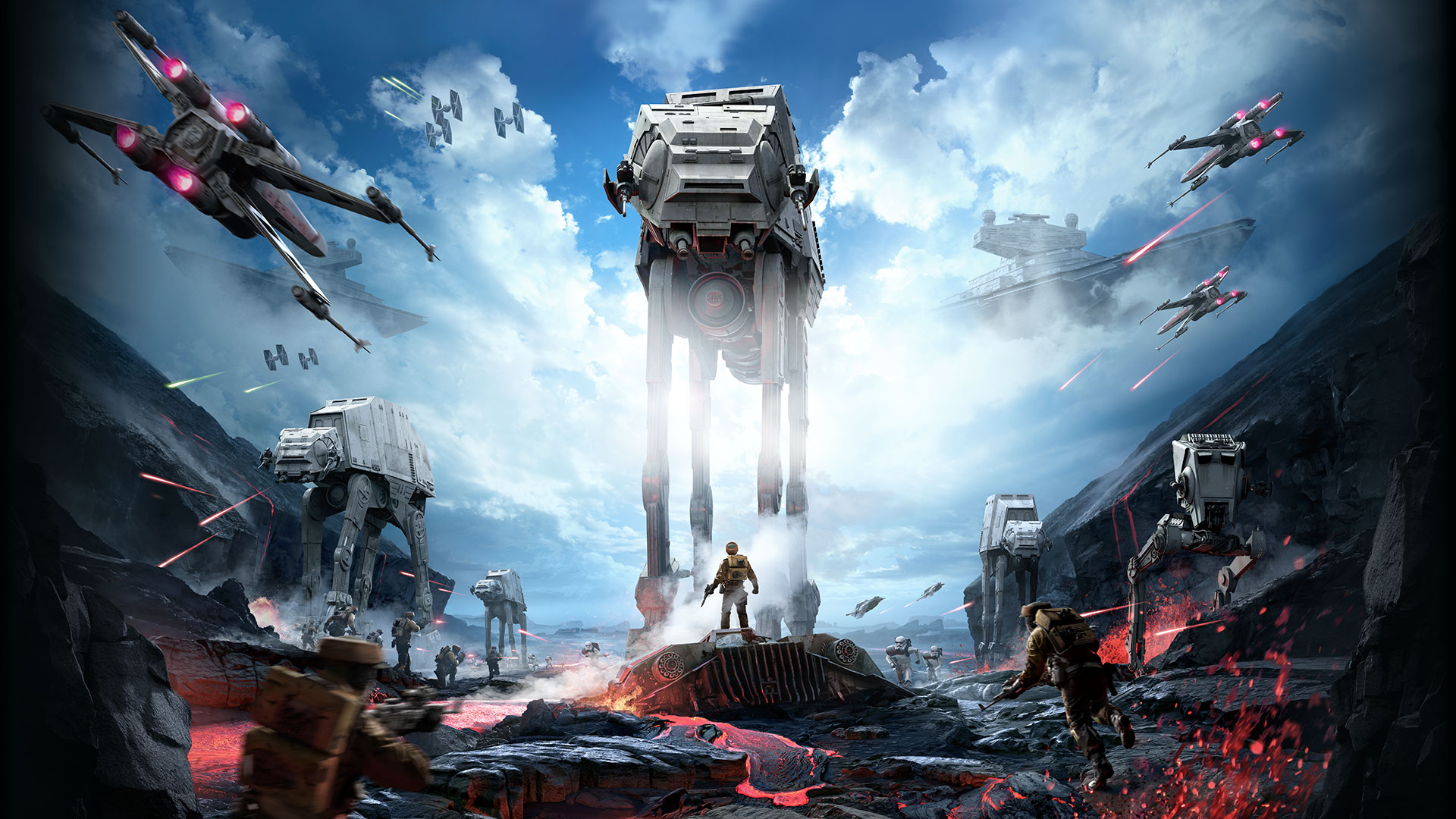 Star Wars Battlefront No Logo Hd Wallpaper Star Wars Windows Background 1790497 Hd Wallpaper Backgrounds Download