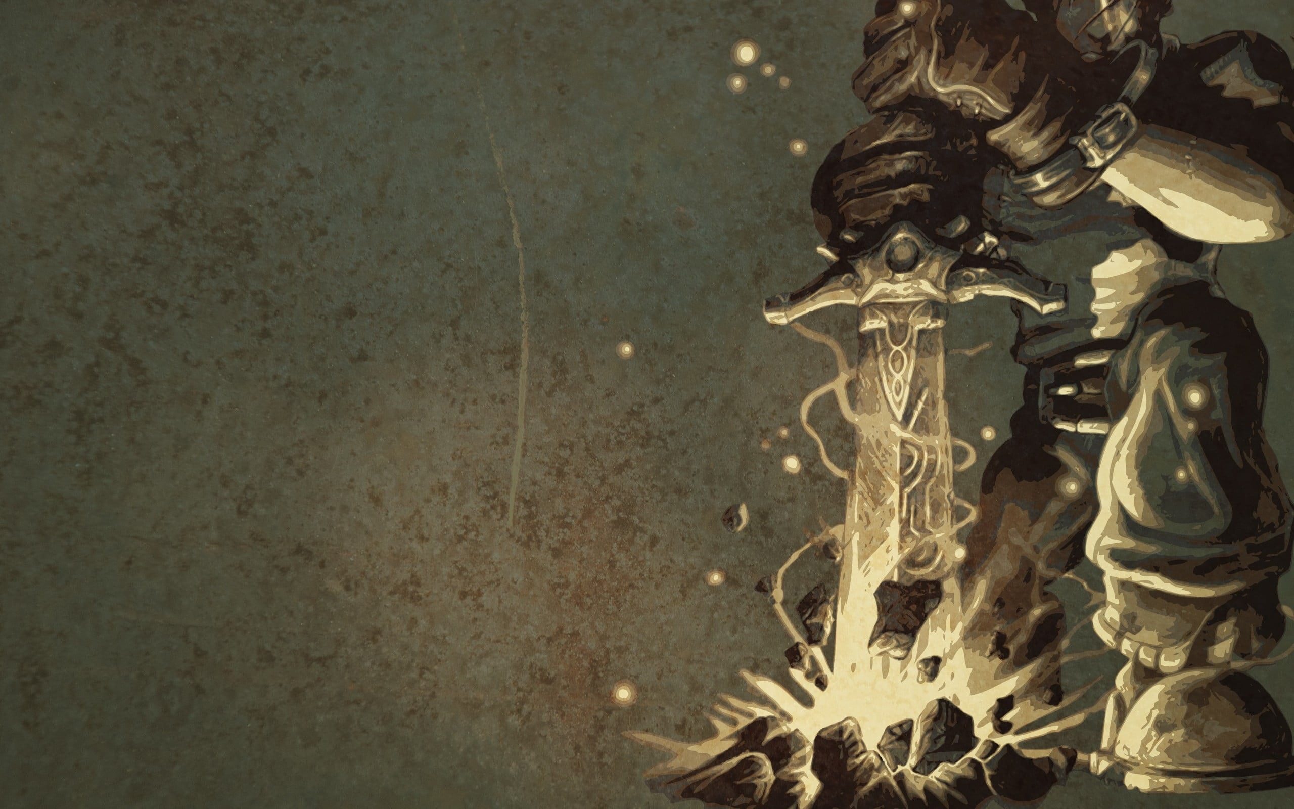 Man Holding Sword Digital Wallpaper Video Games Fable Fable