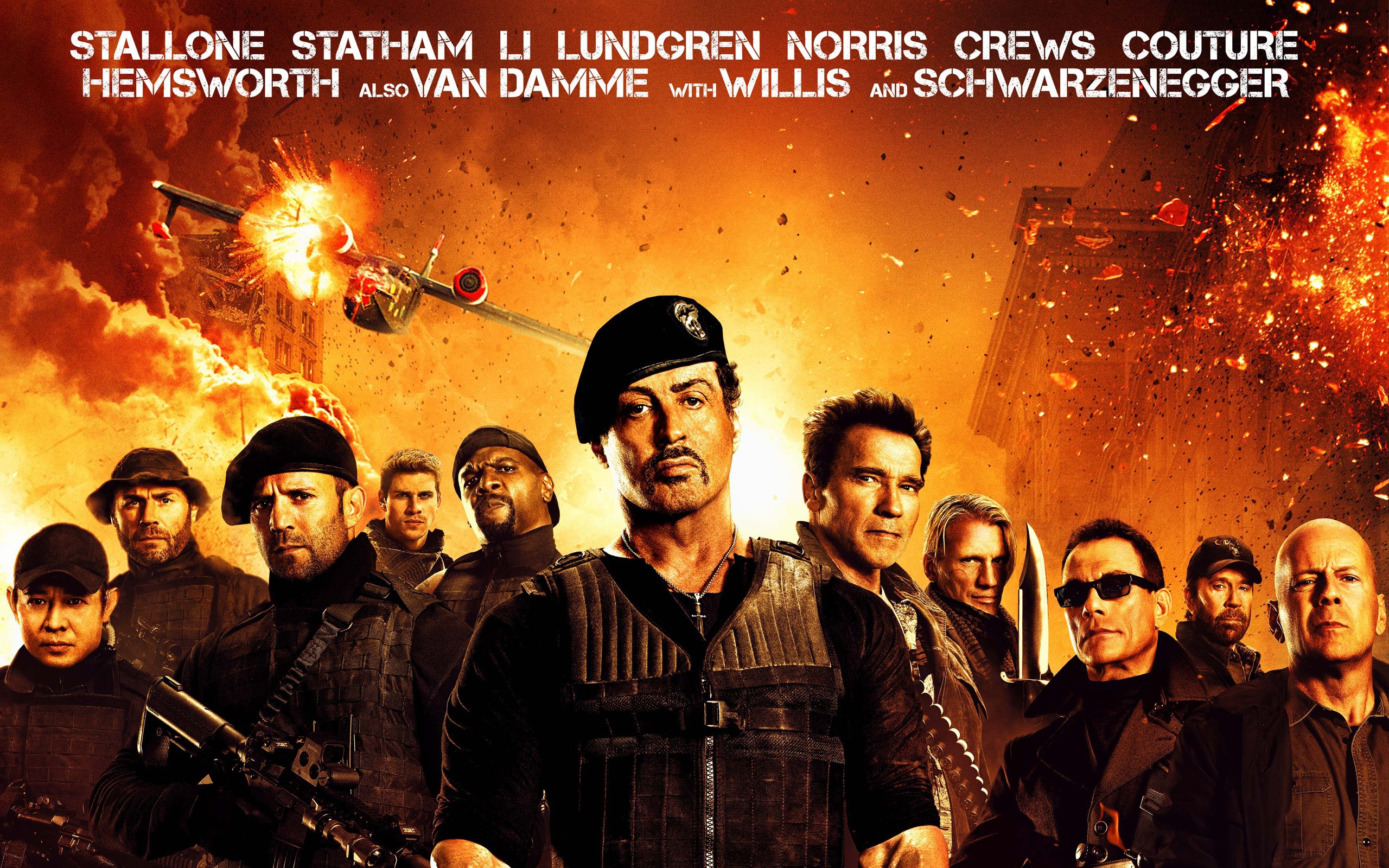 The Expendables 2 Wallpaper Hd - Expendables 2 Hd , HD Wallpaper & Backgrounds