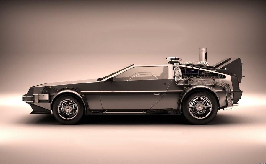 Amc Delorean Back To The Future , HD Wallpaper & Backgrounds