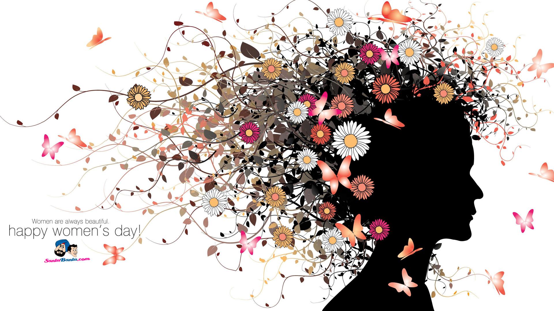 2012 International Women's Day - Happy Women's Day Fashion , HD Wallpaper & Backgrounds