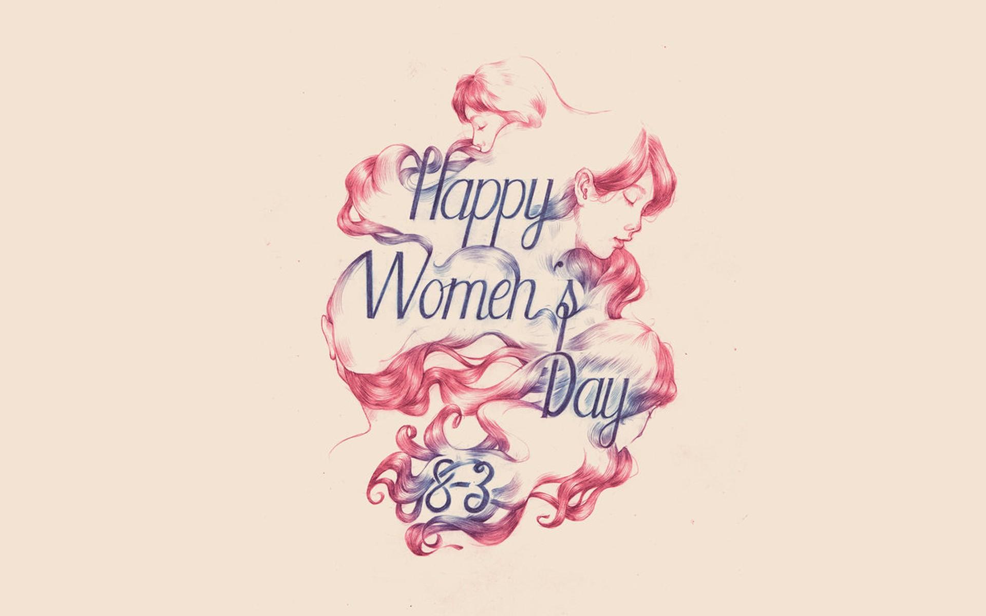 Original - Friend Happy Women's Day , HD Wallpaper & Backgrounds
