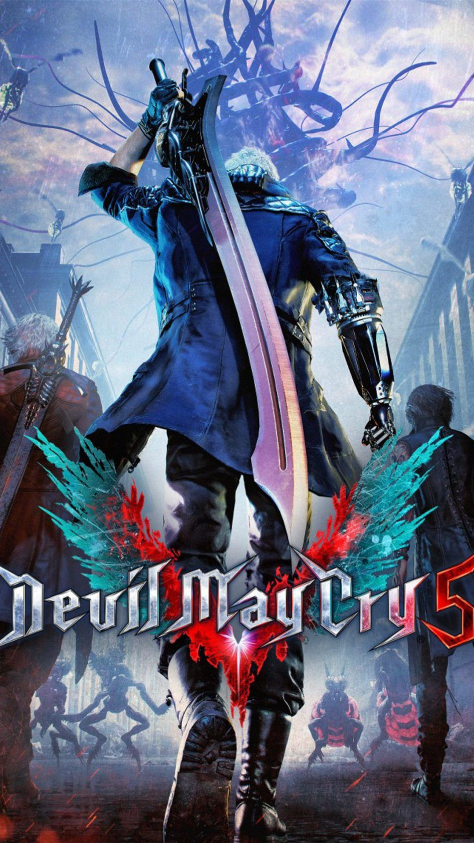 Devil May Cry 5 Hd Mobile Wallpaper Devil May Cry 180515