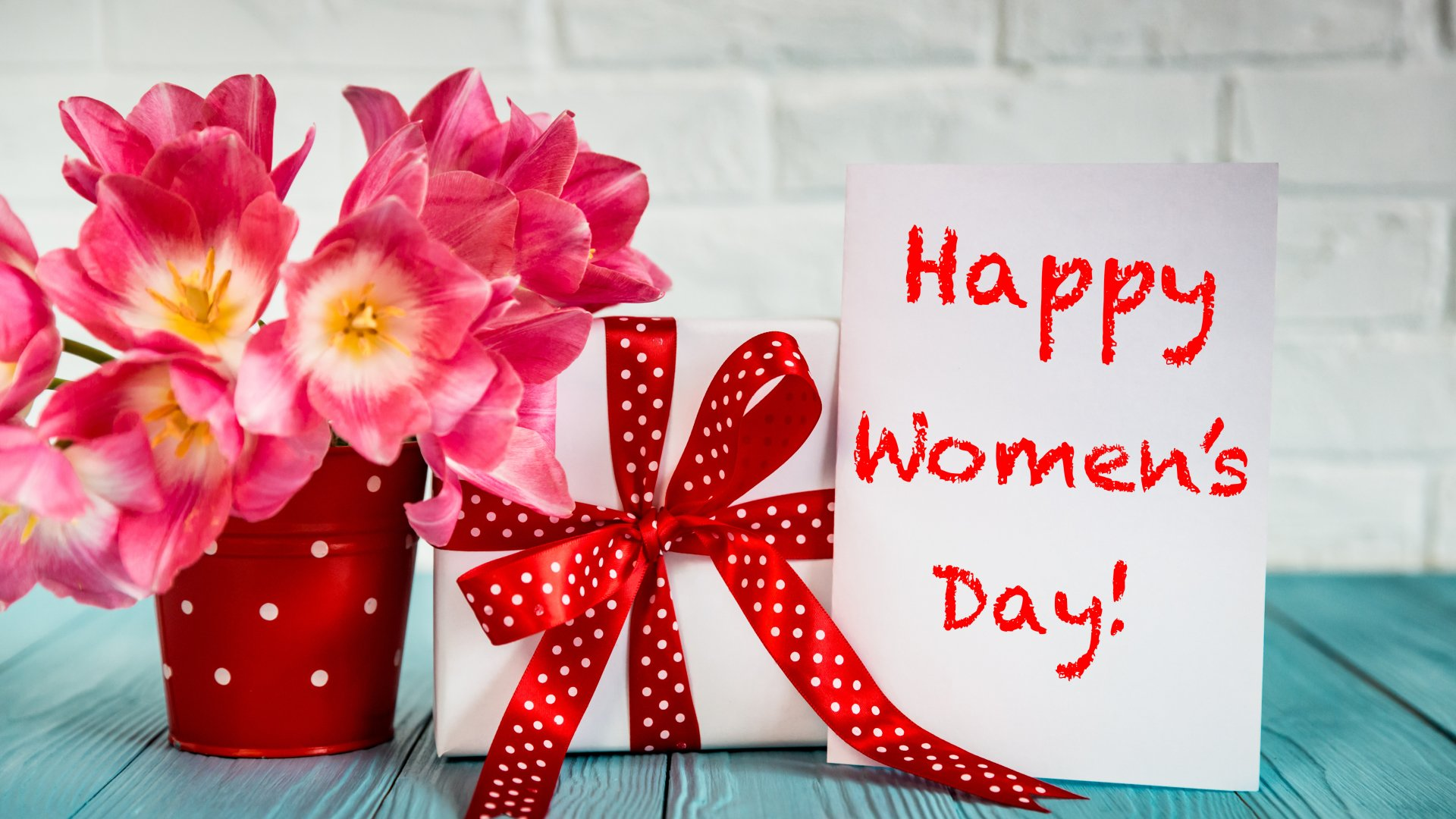 Happy Women S Day Wish Wallpaper Hd Dia Internacional Da Mulher
