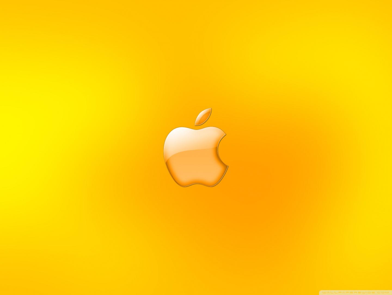 Standard 4 Apple Logo Golden Colour 183184 Hd