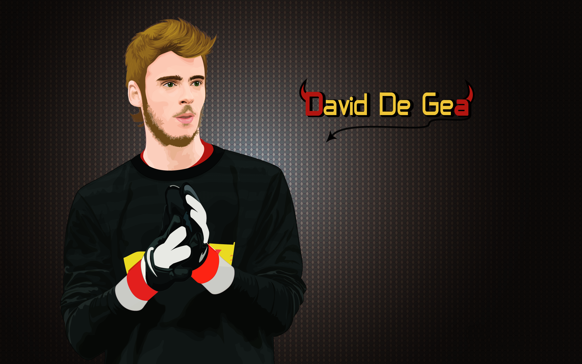 David De Gea Cartoon Exclusive Hd Wallpapers David De Gea