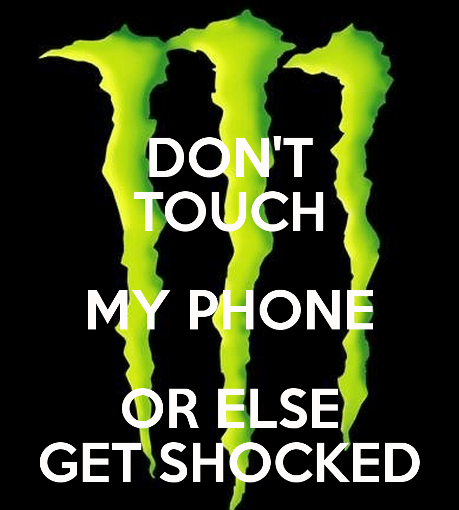 Don T Touch My Phone Wallpapers Wallpaper Cave Don T Touch
