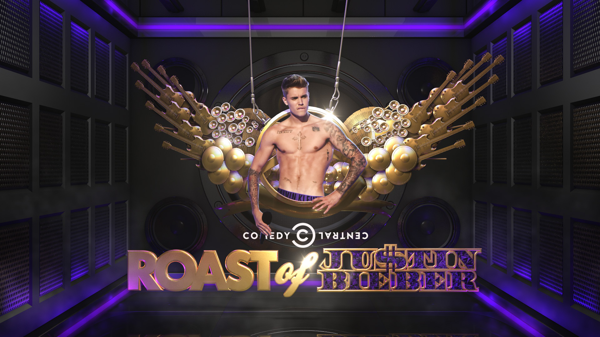 Comedy Central Roast Of Bieber - Poster , HD Wallpaper & Backgrounds