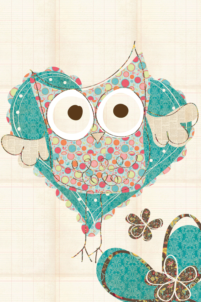 100 Images About Background On We Heart It Cartoon Owl