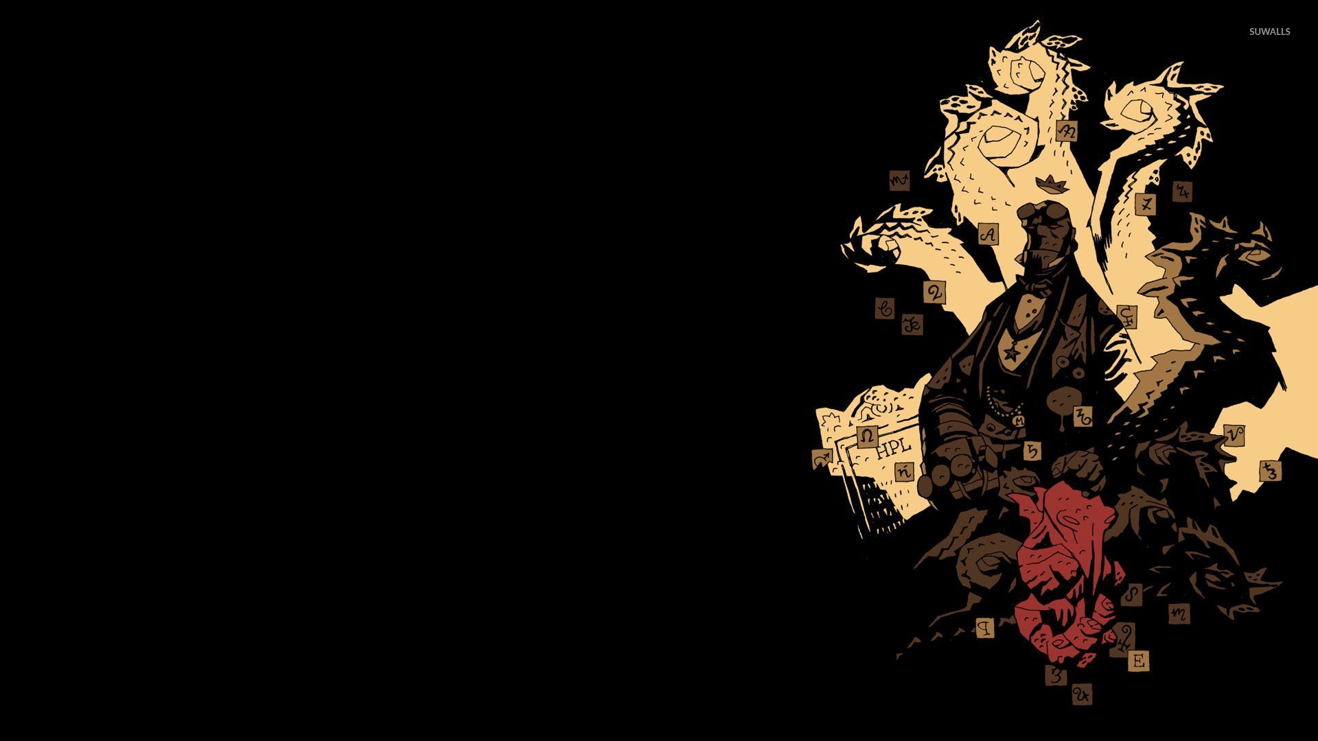 Hellboy The First 20 Years Wallpaper Mike Mignola